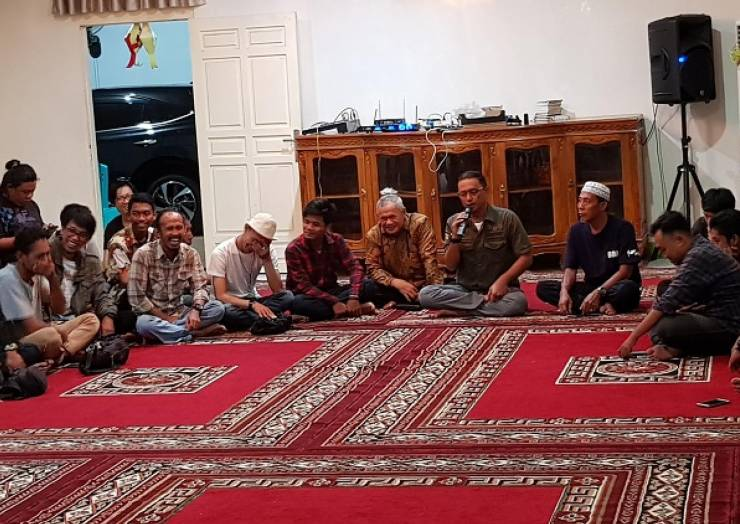 WORKSHOP TEATER JALIN SILATURAHMI PENGGIAT SENI PERTUNJUKAN